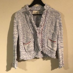 Angel of the North Sz M Knit Cardigan Anthro